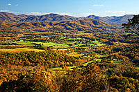Blue Ridge Mountain landscape photo